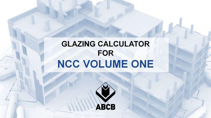 Glazing Calculator for NCC Volume One