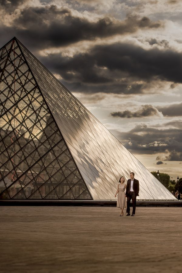 Love Story at the Louvre. The 1st of A European Love Stories to be published.