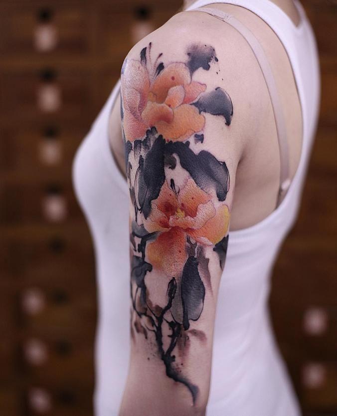 Flower Nature Tattoo: 25+ Best Ideas About Small Nature Tattoo On Pinterest