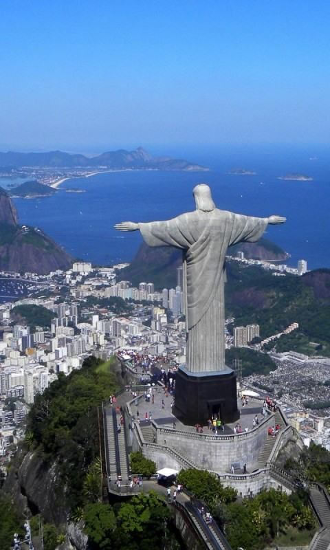 Rio de Janeiro, Brazil....this is absolutely breath taking up close. Can't wait to go back.