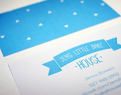 "Check out new work on my @Behance portfolio: ""Jens Little Bake House"" http://on.be.net/1FJKp9f"