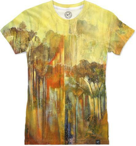 Mystical Forest by Brian Rolfe Art - Women's T-Shirts - $49.00