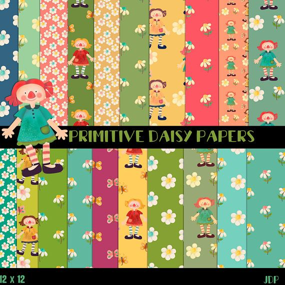 Primitive Papers Prim Papers Country papers Folk papers