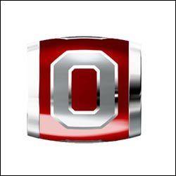 Ohio State Pandora Charm