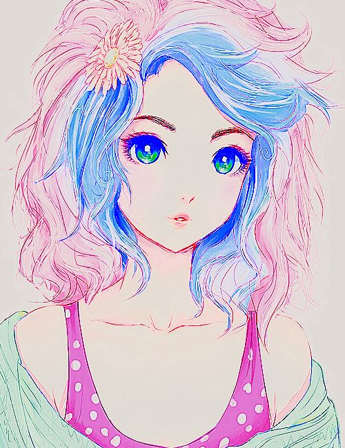 Colorful Maange 10 Pcs Ombre Rainbow Mermaid Makeup: 29 Best Images About Shoujou Manga Animae On Pinterest