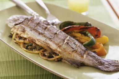 Grilled trout - Jennifer Levy/Taxi/Getty Images