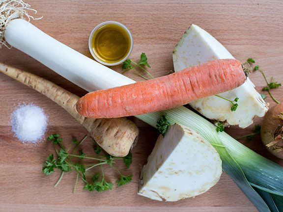 Gemüsefond selber machen: Zutaten