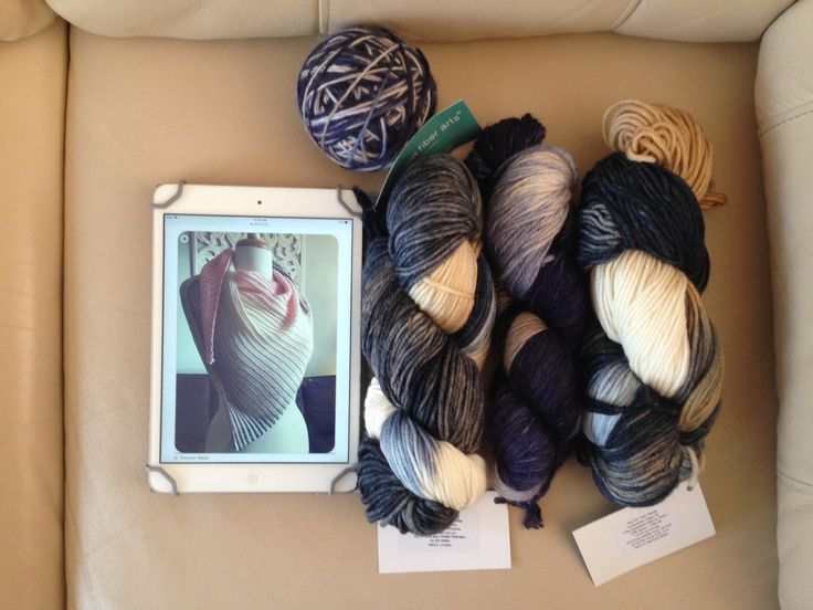 Sandbar Shawl (stripes)