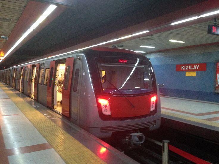 * Ankara * Capital da República da Turquia. Metrô de Ankara.