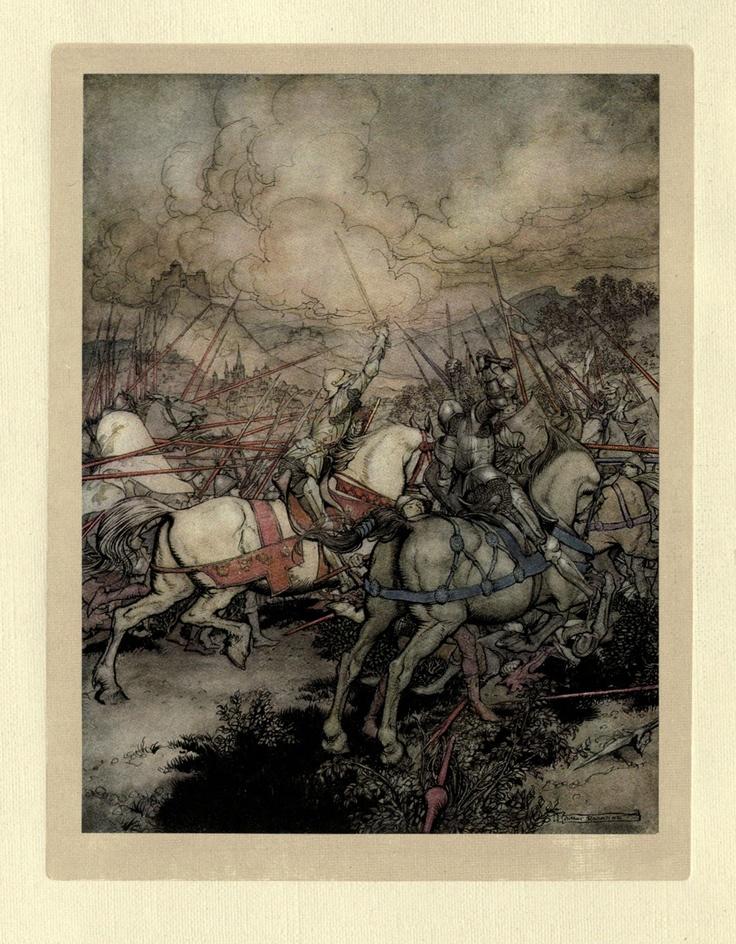 001-El rey Arturo usa Excalibur por primera vez