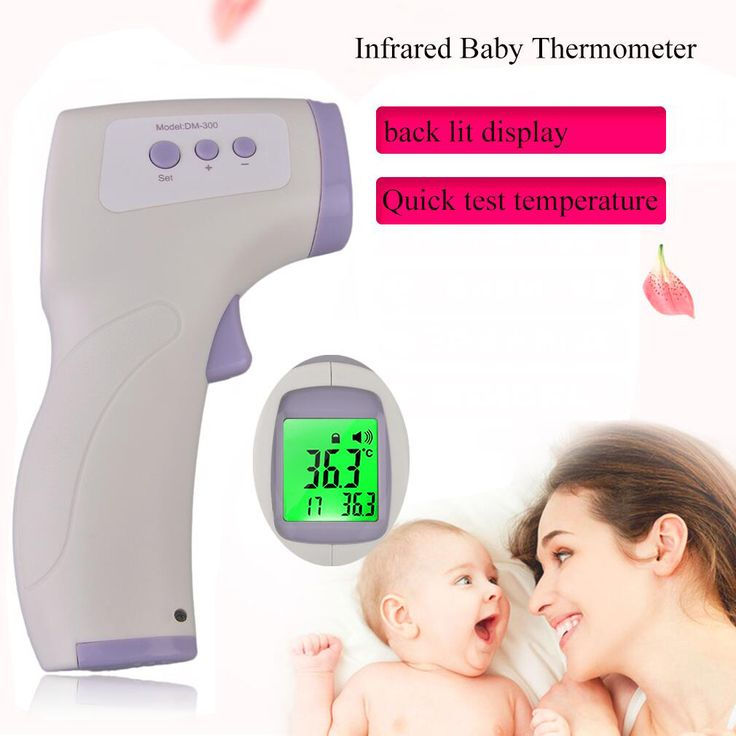 OUTAD Digital LCD Infrared Baby Thermometer Non Contact Temperature Measurement Diagnostic Tool Device Professional Baby Care