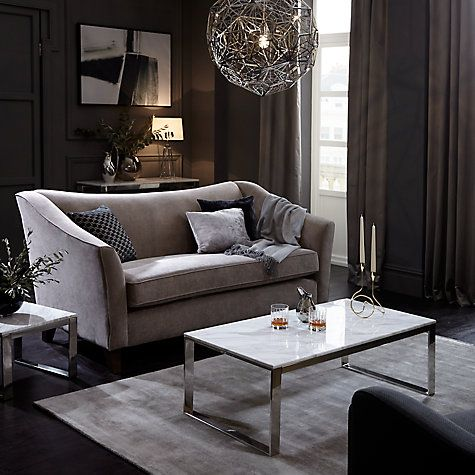 Buy John Lewis Frost Marble Coffee Table Online At Johnlewis