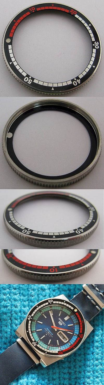 Other Watch Parts and Tools 180246: Seiko Sports Rally Diver Bezel 40.9 Mm + Red And Black Insert Lum. Dot For Parts -> BUY IT NOW ONLY: $195 on eBay!