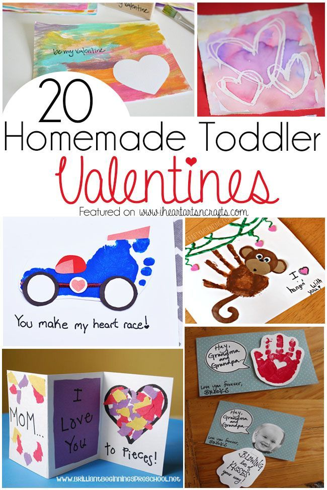 Homemade Valentinesnot only make the perfect keepsake folr the grandparents or mommy and daddy, but they can be so much fun to make. There are a ton of cute homemade Valentines that are perfect for your toddler that involve something as easy as handprint art to some gorgeous watercolor artwork. Here are 20 adorable homemade …