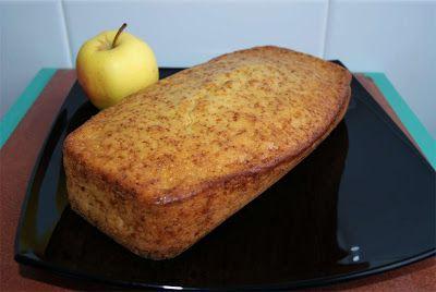 receta de bizcocho de manzana y canela