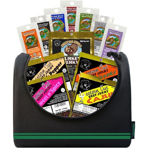 Buffalo Bills 1.75oz Beef Jerky Soccer 6-Pack Gift Cooler - Makes A Great Birthday Gift - http://mygourmetgifts.com/buffalo-bills-1-75oz-beef-jerky-soccer-6-pack-gift-cooler-makes-a-great-birthday-gift/