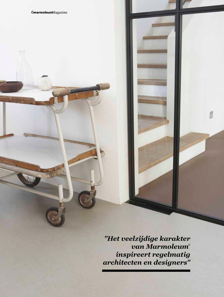 Forbo Flooring NL - Marmoleum thuismagazine 2013 - Pagina 6-7