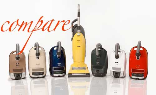Compare Miele Vacuums | Miele Vacuum Models Comparison | Central Vacuum Stores