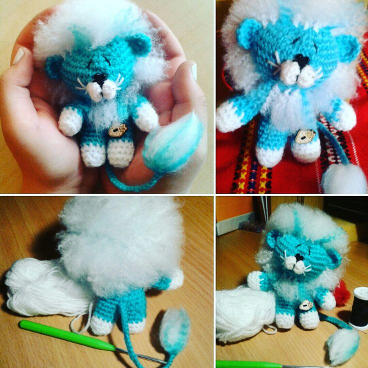 Crochet lion baby handmade mywork