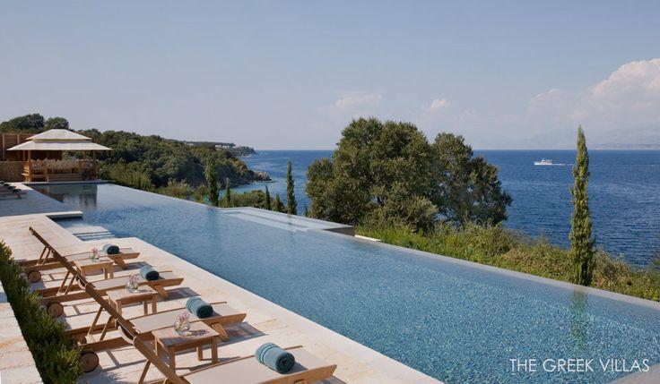 Corfu Luxury Villas, Luxury Villa rentals in Corfu , Villa Gaia I, Ionian Islands, Greece