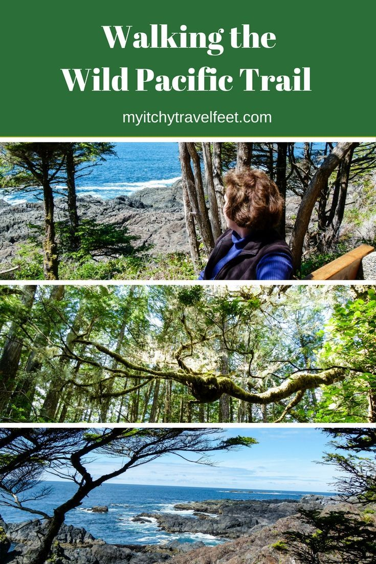 Boomer travel - hiking. On a Vancouver Island road trip, hike the Wild Pacific Trail in Ucluelet. It's an easy boomer travel adventure in British Columbia.