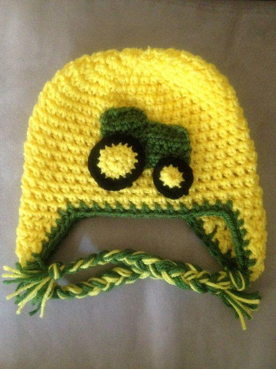 Deere Infant Hat Crochet Pattern : 17 Best images about Jd on Pinterest Mossy oak camo ...