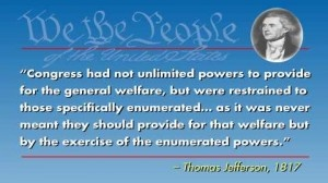 How Do You Balance The Federal Budget? Restrict Spending To The Enumerated Powers : Freedom Outpost