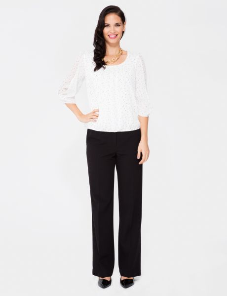 Oliver Black Classic Pant, Regular Length product photo