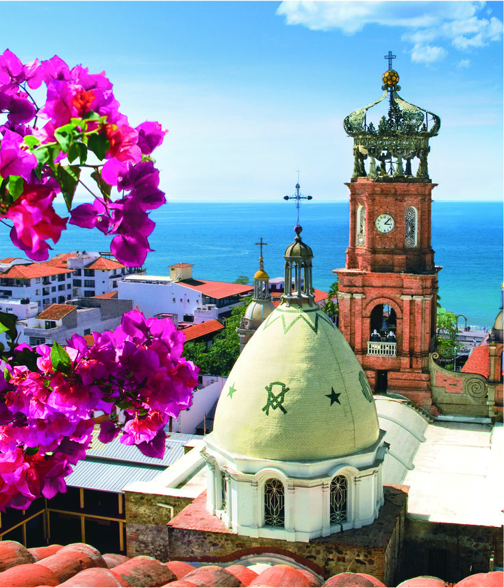 Lovely colonial feel on a beach kissed destination PUERTO VALLARTA, Mexico.