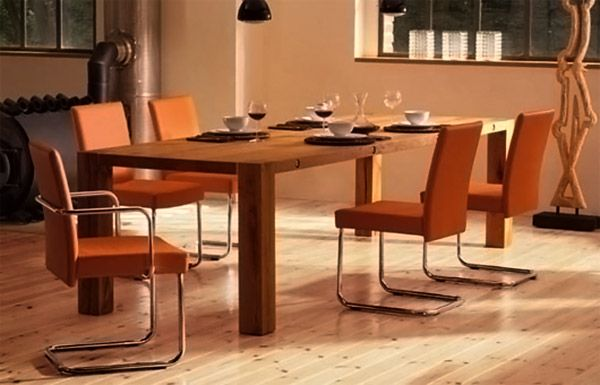 cool 35 Gorgeous Wood Dining Tables to Charm the Dining Area