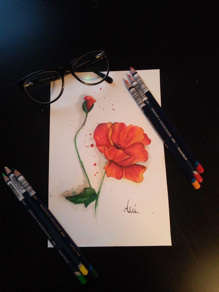 Mak - akwarela watercolor