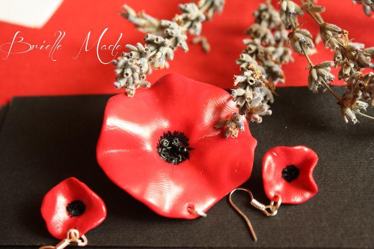 Set Hot Poppies by briellemade.deviantart.com on @deviantART