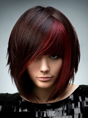 Cool Vibrant Highlights Hair Ideas: Haircuts, Hairstyles, Hair Colors, Haircolor, Beautiful, Hair Cut, Hair Style, Wigs, Red Highlights