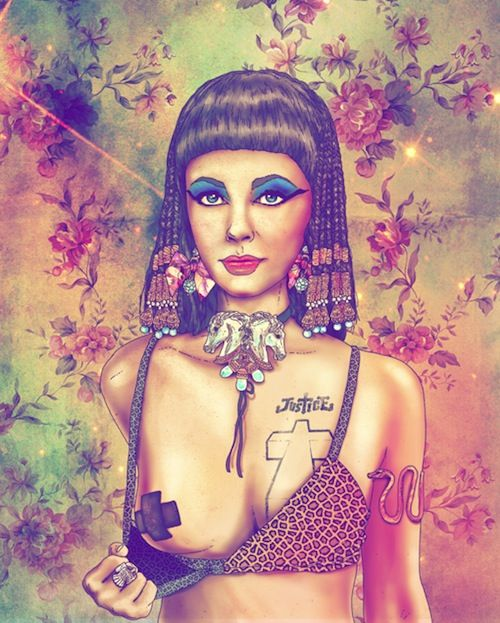 #Cleopatra #Pop Culture Rebels as modern day Hipsters