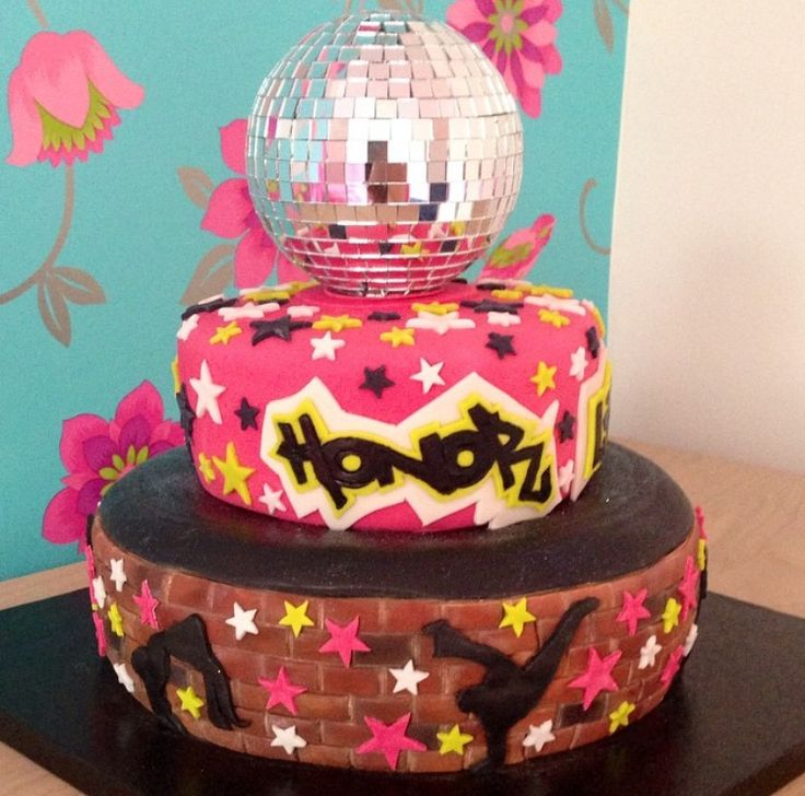 Dance Party Cake Images : 17 Best images about Street Dance Cakes on Pinterest Fun ...