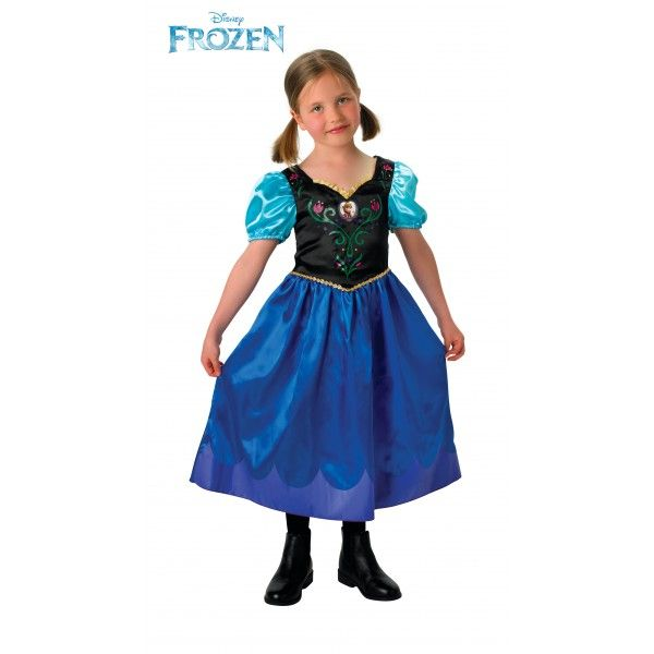 """DisfracesMimo, disfraz de anna frozen para niña varias tallas.Este traje para tematica de princesas de la pelicula frozen. Conviértete en la atrevida princesa disney y canta el conocido """"Hazme un muñeco de nieve"""" y rescata a tu hermana Elsa, la reina de las nieves."""