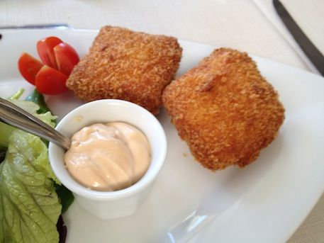 Mijn verstand: Kipkroketten met Parmezaanse kaas