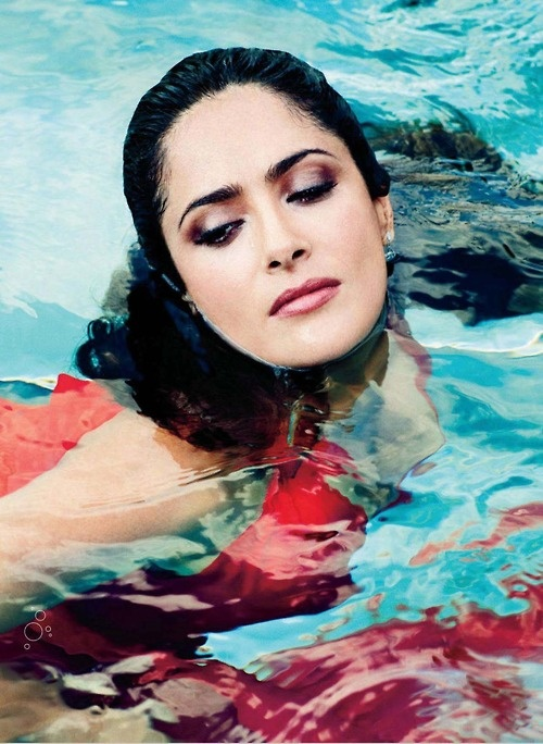 Salma Hayek photographed by Alexei Hay  (2012)