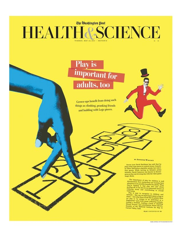 THE WASHINGTON POST (HEALTH & SCIENCE) New work today for the Washington Post Health &Science. Cover