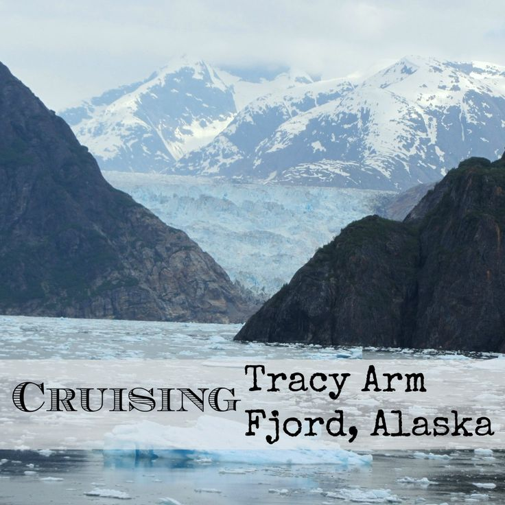 Cruising Tracy Arm Fjord, Alaska with Disney Wonder Cruise  #alaska #glacier #iceberg | mybigfathappylife