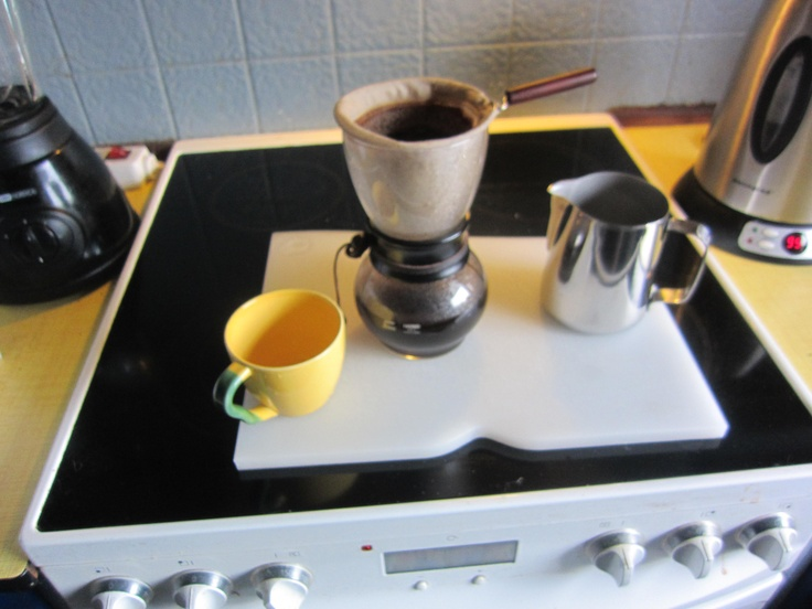Coffee on Hario´s Woodneck