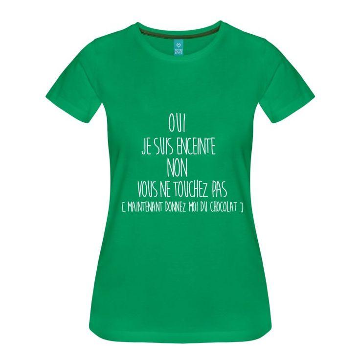 Super Les 25 meilleures idées de la catégorie T shirt femme enceinte  NX32