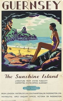GUERNSEY, THE SUNSHINE ISLAND