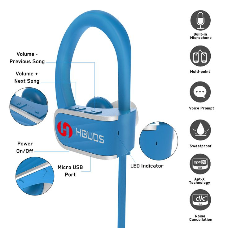 They come with a built-in microphone that allows the user to easily talks when using the earphones when taking calls. It can use last for about 9 hours due to the battery before recharging again. They sound produced very clear and of high quality due to the make of these units. These Bluetooth headphone are safe and will not result in damage to your eardrums. The user is advised to use the reasonable volume that is not too high when wearing them. http://hbudssport.com