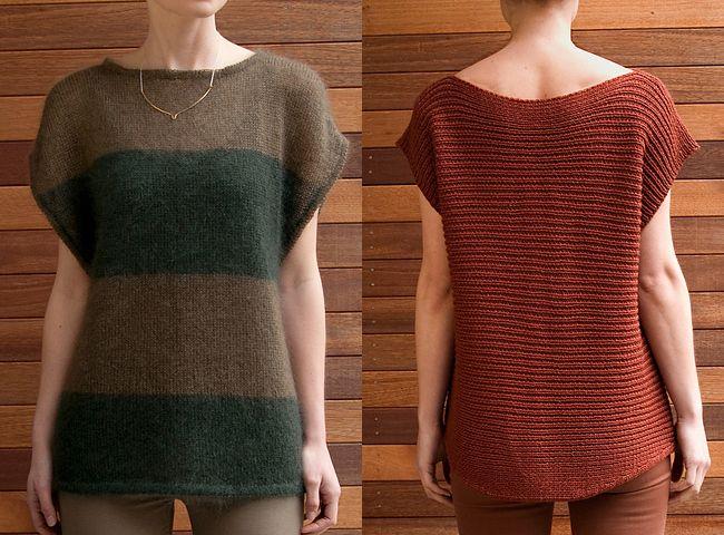 New Favorites: Box tops // knitting patterns by Lydia Tsymbal // Fringe Association