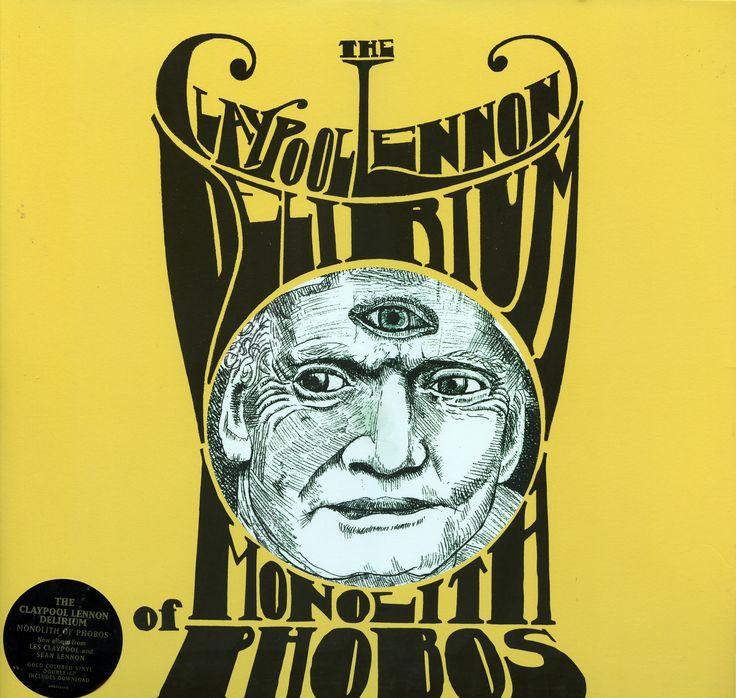 Claypool Lellon Delirium Monolith of Phobos color vinyl  cover