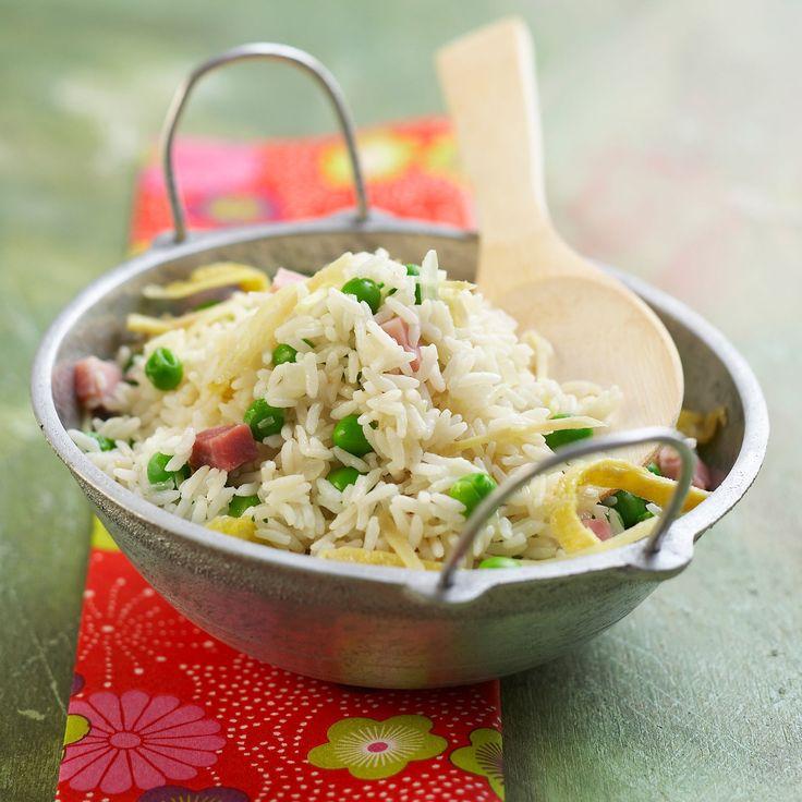 Découvrez la recette du riz cantonnais facile