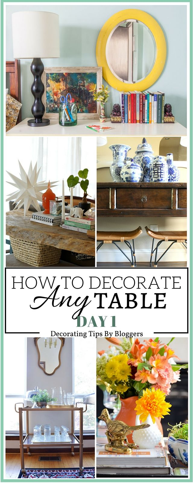 So many great tips on table styling! Love all the different looks and ideas.