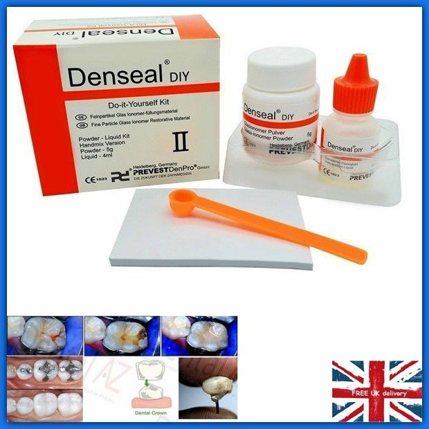 Permanent tooth white cement filling repair diy fix kit teeth permanent tooth white cement filling repair diy fix kit teeth dental oral care solutioingenieria Choice Image