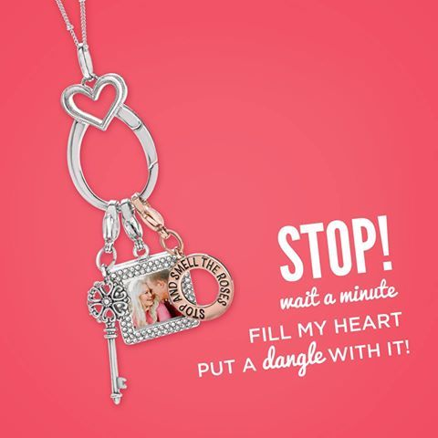 Name that tune ;) This Heart Catcher Pendant would look great on you! We are LOVING it for Valentines!!!